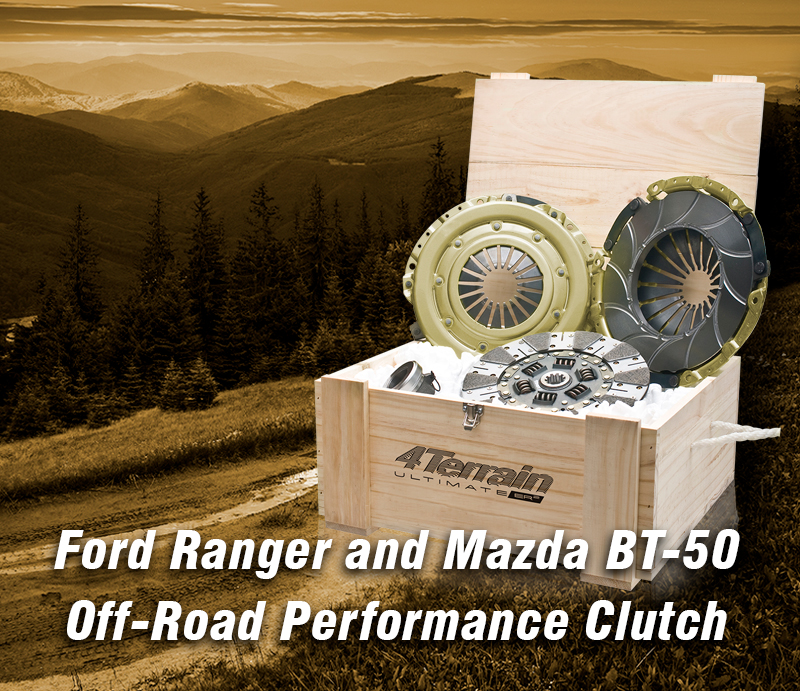 Ford Ranger and Mazda BT-50 Off-Road Performance Clutch